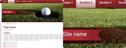 Diseño golf